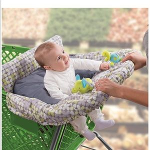 2 in 1 Cushy Cart cover and seat positioner
